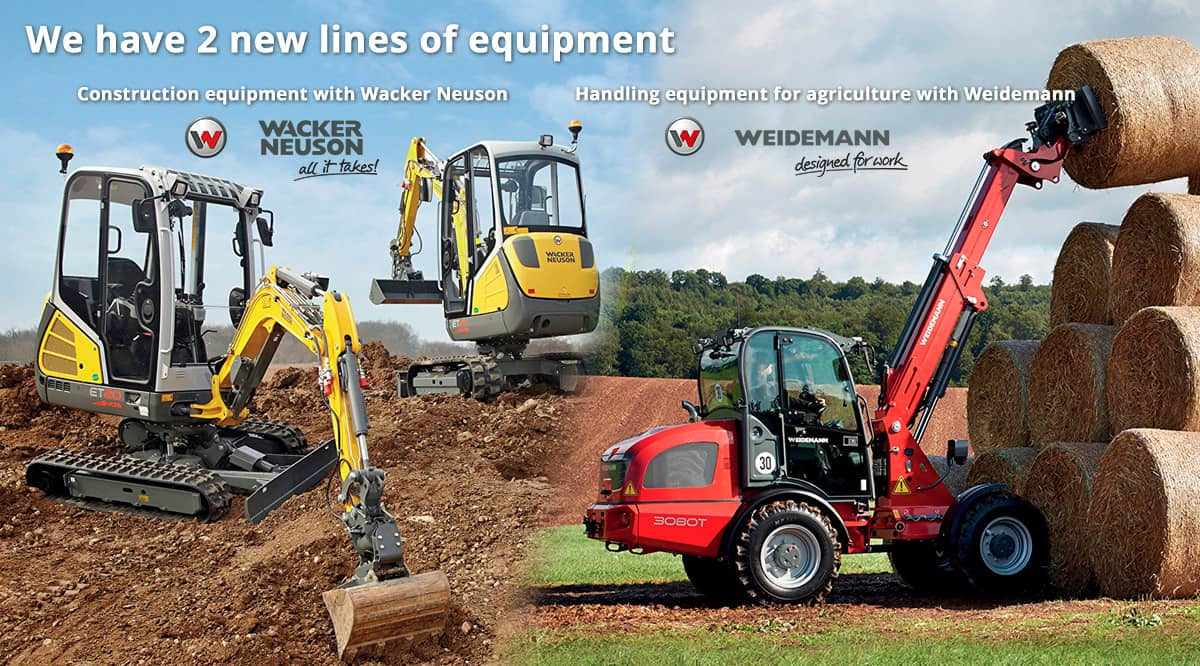 Wacker Neuson and Weidemann
